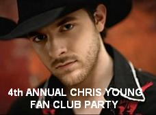 4th Annual Chris Young Fan Club Party