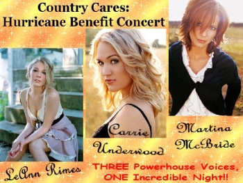 Country Cares: Hurricane Benefit Concert